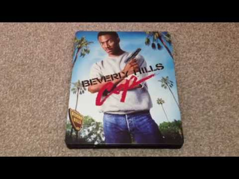 Beverly hills cop UK Blu-ray unboxing