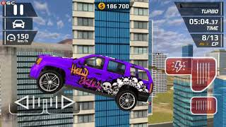 "Smash Car Hit - Impossible Stunt Hold Skull Car"" Speed Car Games - Android gameplay FHD #6"