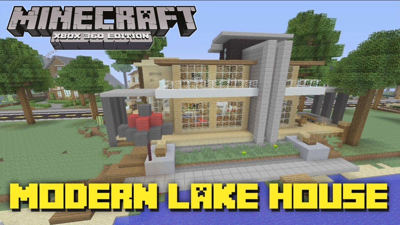 How To Build A Minecraft Modern House Xbox