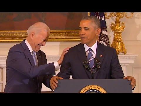 Obama's Tribute to Joe Biden (Full Speech) | ABC News