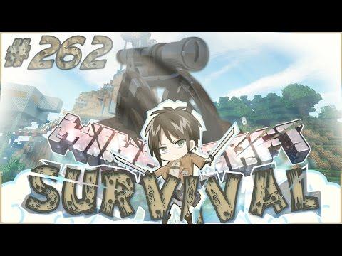 Minecraft ITA - Survival #262: Il Cannone Anti-Titani/Zombie