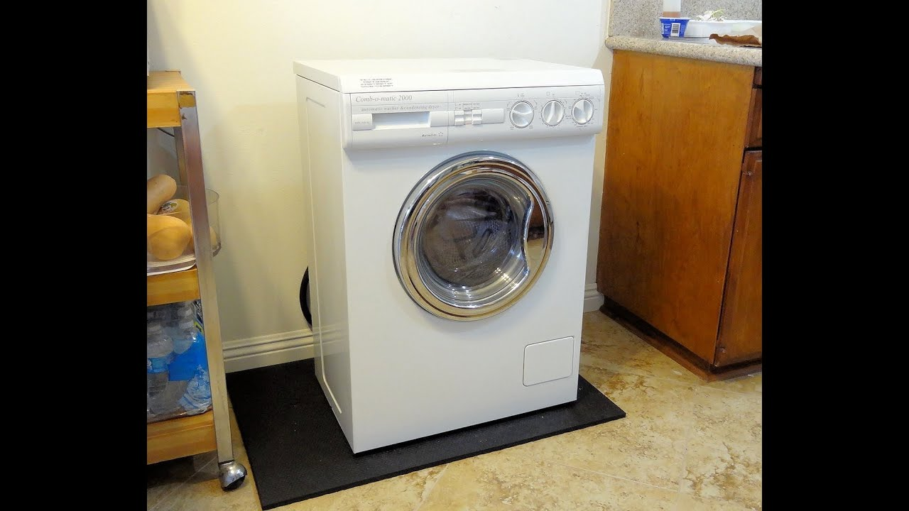 splendide combination washer condenser dryer model wdc1024m great for apartment or rv youtube. Black Bedroom Furniture Sets. Home Design Ideas