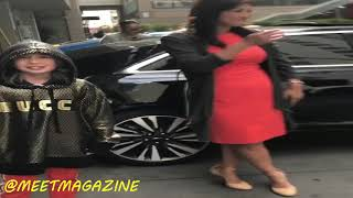 Lil Tay has a Lamborghini, Gucci outfits and just did an interview with ABC! Instagram TROLL!