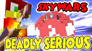 DEADLY SERIOUS !!! -|- TOAD TEAM SKYWARS - minecraft xbox