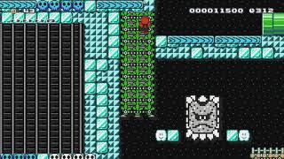 (Mega Man Mix)-Cave Man's Stage by Rowlet - Super Mario Maker - No Commentary