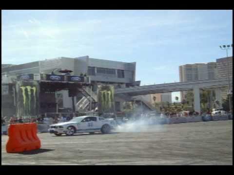 SEMA '10- Ken Block, Vaughn Gittin Drifting / Gymkhana, baja trucks