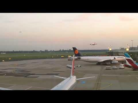 AIR BERLIN Letzte Landung von Flug AB 7001 MIA-DUS