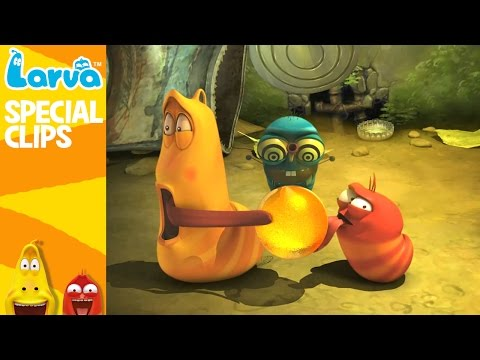 [Official] Larva and Friends 3 - Fun Clips from Animation LARVA