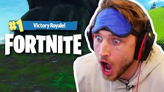 HOW TO MAKE #2 IN FORTNITE BLINDFOLDED