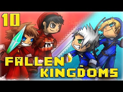 Fallen Kingdoms : Ice VS Fire | Jour 10 - Minecraft