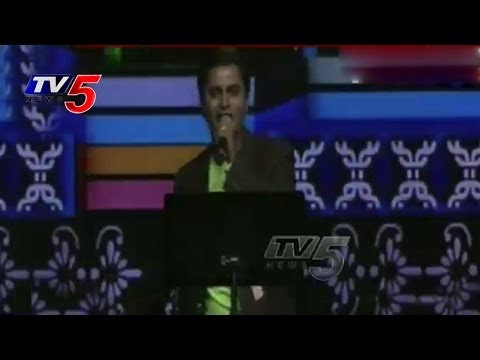Nata Cultural Events 2014 | Telugu Folk Songs Vandemataram Srinivas : Tv5 News video