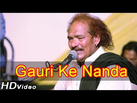 Gori Ke Nanda | Marwadi Live Bhajan 2014 | Ganeshji Bhajan |...