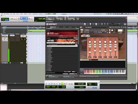 Review of Native Instruments West Africa For Kontakt