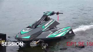 Come aboard and see the the first run on the GP1 1500SE -SEE THE TOP SPEED