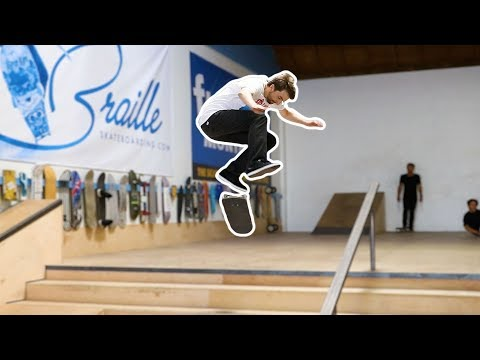 AARON KYRO HEELFLIPS DOWN THE 5 STAIR!