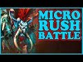 Grubby Micro Battle Rush Warcraft 3 ORC Vs NE Twisted Meadows mp3