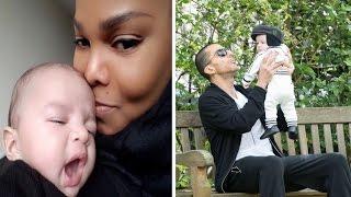 Janet Jackson & her estranged husband Wissam Al Mana show off their son Eissa