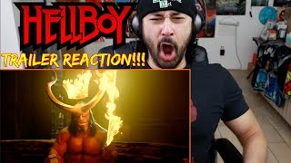 HELLBOY (2019) - Official TRAILER - REACTION!!!