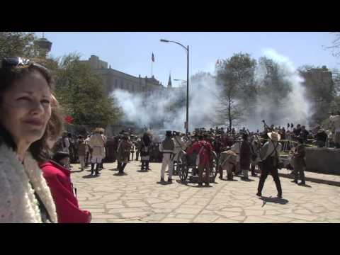 Battle of the Alamo Recreation 2011