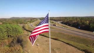 Alliance Rubber Company's American Flag