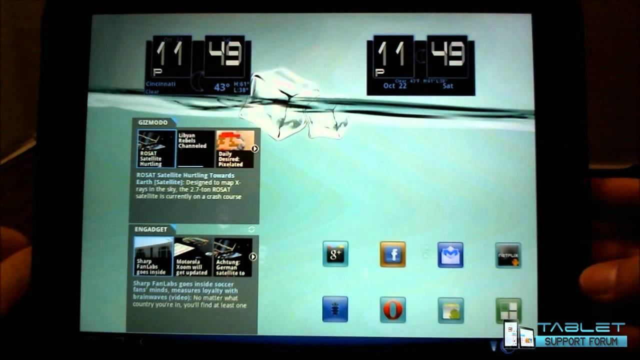 Widgets, Wallpaper, & Themes for Cyanogenmod Android on HP ...