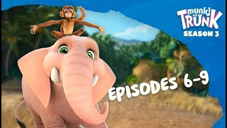 M&T Full Episodes S3 06-09 [Munki and Trunk]