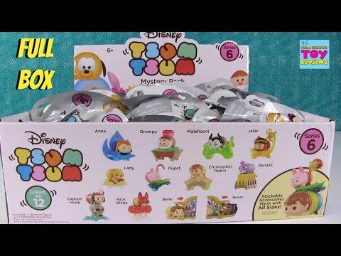 Disney Tsum Tsum Series 6 Mystery Stack Packs Blind Bag