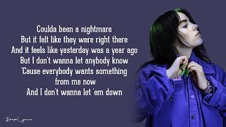 everything i wanted - Billie Eilish (Lyrics) 🎵