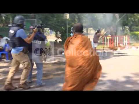 THAILAND: TEAR GAS AND MONDAY PROTESTS