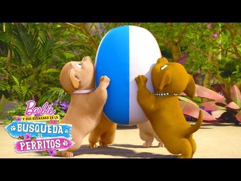 ¡Detrás de cámaras en una aventura de perritos! | Barbie