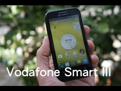 Vodafone Smart III hands-on (Greek)
