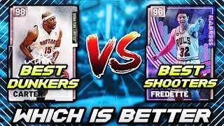 THE BEST DUNKERS SQUAD VS BEST 3 POINT SQUAD IN NBA 2K19 MyTEAM!! | WHICH IS BETTER?