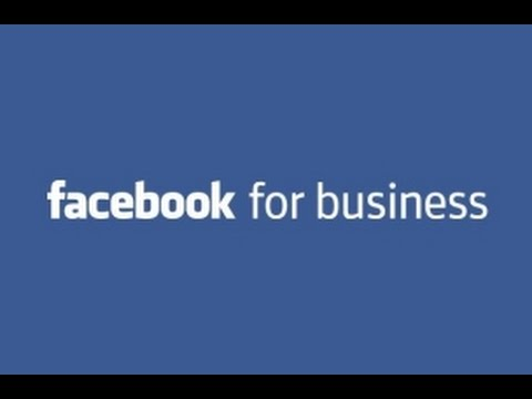 Facebook for Business Tutorial 2016