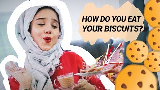 how do you eat your biscuits? | Aisha S Alam