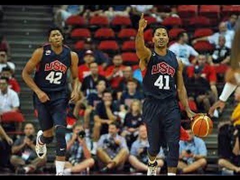 FIBA 2014 World Cup.Group C  USA - Finland HD