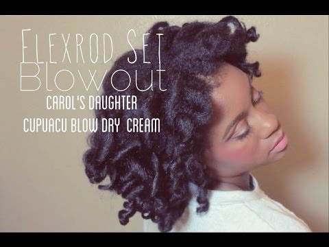 Flexi Rod Set Blowout Tutorial Feat. CD Cupuacu Blow Dry Cream