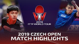 Lin Yun-Ju vs Chen Chien-An | 2019 ITTF Czech Open Highlights (R32)