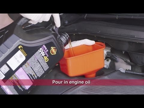 Changing Engine Oil & Filter