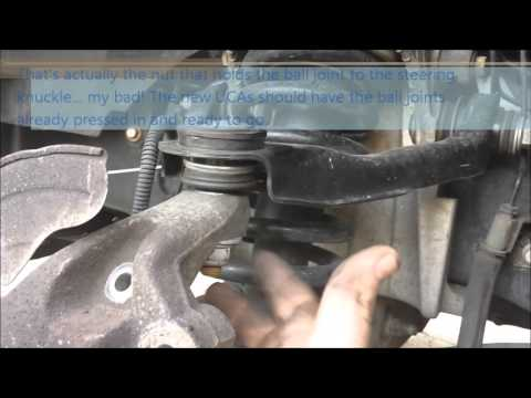 Replacing The Upper Control Arms Ball Joints On Your 2003