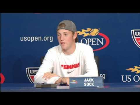 2010 全米オープン Press Conferences: Jack Sock (決勝戦(ファイナル) s - Boys)