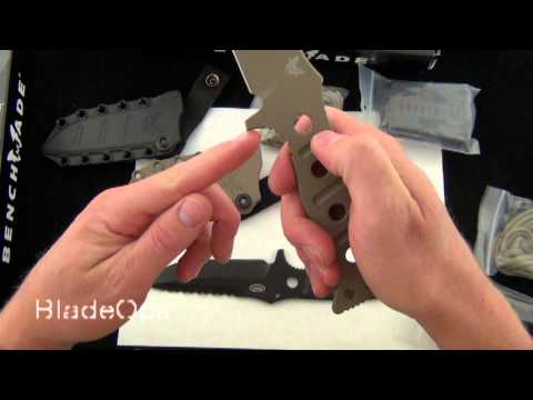 Benchmade Adamas Fixed Blade - Demo by Bladeops
