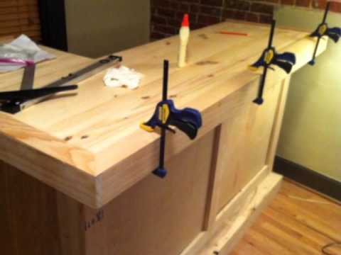 Build wood bar top