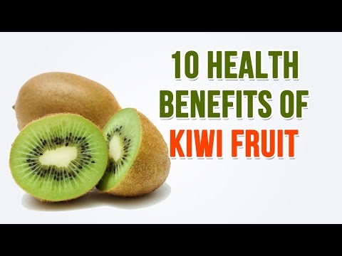 10 Health Benefits of Kiwi Fruit