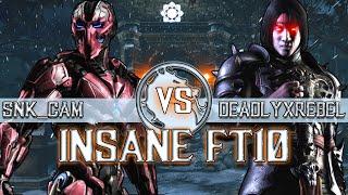 Mortal Kombat X: Deadlyxrebel vs Snk Cam FT10 (HIGH LVL DUALIST!)