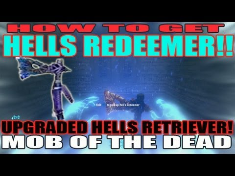 How To Get HELLS REDEEMER! Upgraded Hells Retriever Tutorial Guide Mob of the Dead