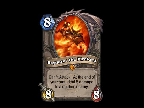 Hearthstone Text   Message   Alert Tones - Ragnaros The Firelord video