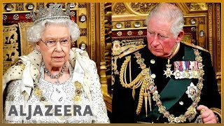 Queen Elizabeth II opens Parliament as Brexit looms