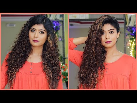 HOW TO : Curl Your Hair At Home | Rinkal Soni