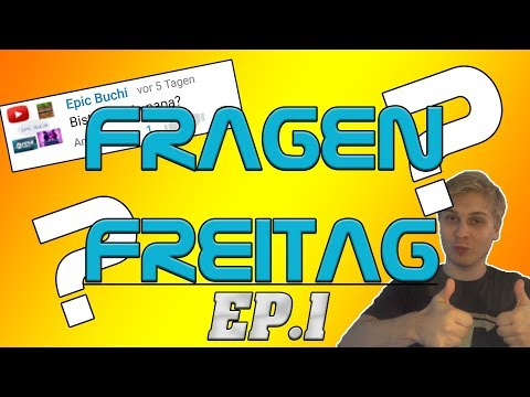 BUCH, BUCHI, BÜCHER   FRAGEN FREITAG Ep.01