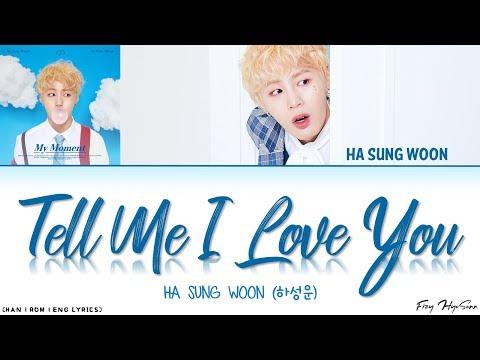 Download  Ha Sungwoon 하성운 - 오.꼭.말 Tell Me I Love You Color Coded Han|Rom|Eng s 가사 Gratis, download lagu terbaru